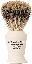 Profumi e cosmetici Pennello da barba, P376 - Taylor of Old Bond Street Shaving Brush Pure Badger size L