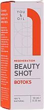 Profumi e cosmetici Siero viso - You & Oil Beauty Shot Botoks Oil / Regeneration Face Serum
