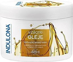 Profumi e cosmetici Crema corpo nutriente con oli - Indulona Nourishing Body Cream With Rare Oils
