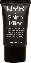 Profumi e cosmetici Fondazione opacizzante per il trucco - NYX Professional Makeup Shine Killer