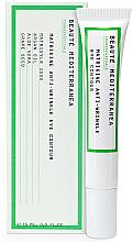 Profumi e cosmetici Crema peptidica antietà contorno occhi - Beaute Mediterranea Matrikine Anti-Wrinkle Eye Contour
