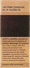 "Olio essenziale ""Jasmine"" - Apivita Aromatherapy Organic Jasmine Oil — foto N3"