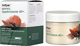 Profumi e cosmetici Crema viso antirughe rassodante e idratante da giorno - Tolpa Green Firming 40+ Rejuvenating Anti-Wrinkle Day Cream