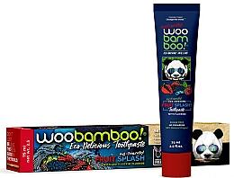 "Profumi e cosmetici Dentifricio ""Fruit Splash"" al fluoro - Woobamboo Fruit Splash Toothpaste With Fluoride"