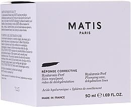 Profumi e cosmetici Crema viso idratante e rimpolpante - Matis Hyaluronic-Perf Plumping Care