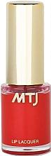 Profumi e cosmetici Lacca per labbra - MTJ Cosmetics Liquid Lip Lacquer Effect 6H