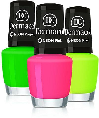 Smalto per unghie - Dermacol Neon Nail Polish
