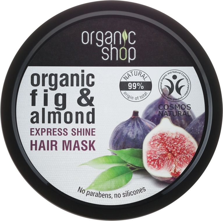 Maschera per capelli al Fico biologico e Mandorla - Organic Shop Organic Fig Tree and Almond Hair Mask