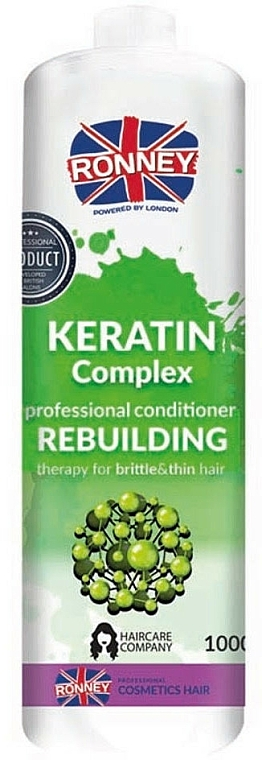 Balsamo capelli - Ronney Professional Keratin Complex Rebuilding Conditioner
