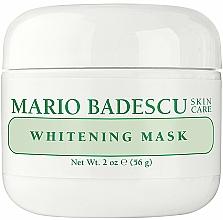 Profumi e cosmetici Maschera viso illuminante - Mario Badescu Whitening Face Mask