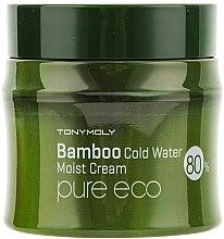 Profumi e cosmetici Crema idratante - Tony Moly Pure Eco Bamboo Icy Water Moisture Cream )