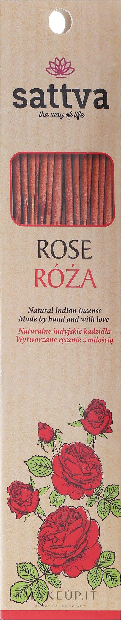"""Bastoncini di incenso """"Rose"""" - Sattva Rose — foto 15 pz."""