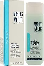 Profumi e cosmetici Shampoo idratante - Marlies Moller Marine Moisture Shampoo