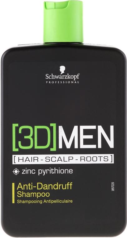 Shampoo antiforfora - Schwarzkopf Professional 3D Mension Anti-Dandruff Shampoo