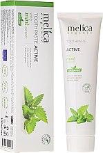 Profumi e cosmetici Dentifricio con estratto di menta - Melica Organic