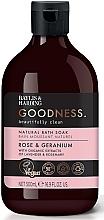 Profumi e cosmetici Bagnoschiuma - Baylis & Harding Goodness Rose & Geranium Natural Bath Soak