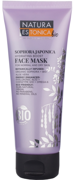 "Maschera viso ""Sofora giapponese"" - Natura Estonica Sophora Japonica Face Mask"