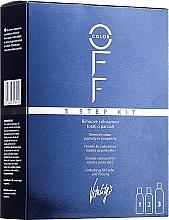 Profumi e cosmetici Rimedio per rimozione del colore artificiale - Vitality's Color Off 3 Step Kit