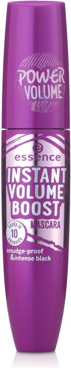 Mascara per le ciglia - Essence Instant Volume Boost Mascara Smudge-Proof And Intense Black