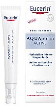 Profumi e cosmetici Crema contorno occhi attiva rivitalizzante - Eucerin Aquaporin Active Revitalizing Eye Cream