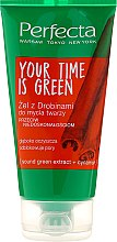 Profumi e cosmetici Gel detergente - Perfecta Your Time is Green