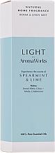 """Profumi e cosmetici Spray per ambienti """"Menta e lime"""" - AromaWorks Light Range Room Mist"""