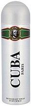 Profumi e cosmetici Cuba Green - Deodorante
