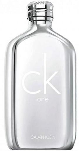 Calvin Klein CK One Platinum Edition - Eau de toilette