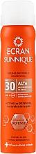 Profumi e cosmetici Spray protettivo invisibile - Ecran Sunnique Spray Protection SPF30