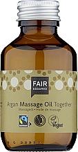 Profumi e cosmetici Olio da massaggio per corpo - Fair Squared Argan Massage Oil Together