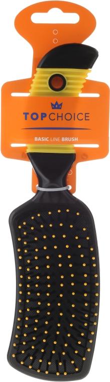 Spazzola capelli, 2670, nero-giallo - Top Choice — foto N1