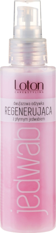 Condizionante rigenerante bifasico con seta liquida - Loton Two-Phase Conditioner Silk Regenerating Hair