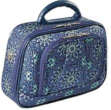 Profumi e cosmetici Beauty case L 95528 blu-verde - Top Choice