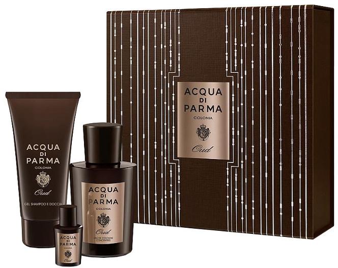 Acqua di Parma Colonia Oud - Set (edc/100ml + edc/5ml + sh/gel/75ml)
