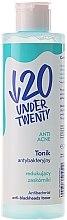 Profumi e cosmetici Tonico antibatterico contro i punti neri - Under Twenty Anti Acne Tonik