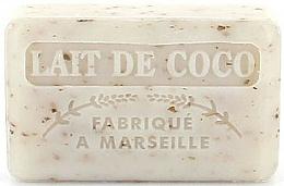 """Profumi e cosmetici Sapone di Marsiglia """"Latte di Cocco"""" - Foufour Savonnette Marseillaise"""