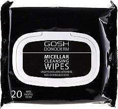 Profumi e cosmetici Salviette micellari struccanti - Gosh Donoderm Micellar Cleansing Wipes