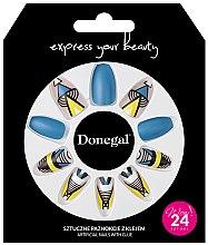 Profumi e cosmetici Set unghie finte con colla, 3051 - Donegal Express Your Beauty