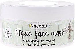 Profumi e cosmetici Maschera viso anti-acne con alghe e tè verde - Nacomi Professional Face Mask
