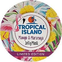 """Profumi e cosmetici Maschera viso """"Mango e frutto della passione"""" - Marion Tropical Island Mango & Maracuya Jelly Mask"""