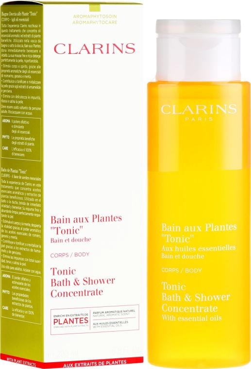 Bagno schiuma - Clarins Tonic Bath & Shower Concentrate