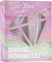 Profumi e cosmetici Set - 7 Days Shine, Bombita! Light Pink (b/mist/135ml + b/milk/150ml)