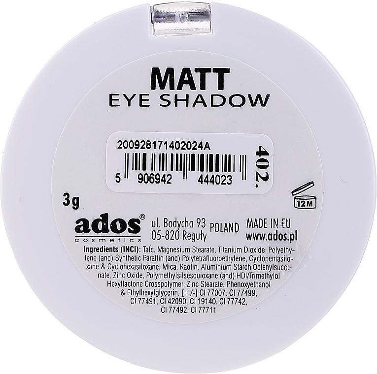 Ombretto opaco - Ados Matt Effect Eye Shadow — foto N14