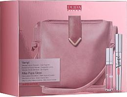 Profumi e cosmetici Set - Pupa Limited Edition (mascara/9ml + lip/gloss/5ml + bag)