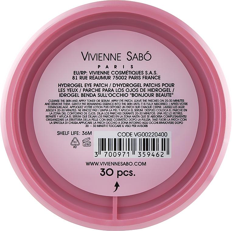 Patch occhi in idrogel - Vivienne Sabo Bonjour, Beaute! Hydrogel — foto N2