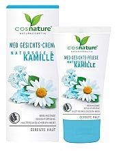 Profumi e cosmetici Crema viso - Cosnature MED Face Cream Brine & Chamomille