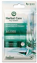 """Profumi e cosmetici Maschera viso per tutti tipi di pelle """"Aloe"""" - Farmona Herbal Care"""