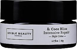 Profumi e cosmetici Crema viso - Edible Beauty Coco Bliss Intensive Repair Balm