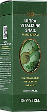 Profumi e cosmetici Crema mani idratante - Dewytree Ultra Vitalizing Snail Hand Cream