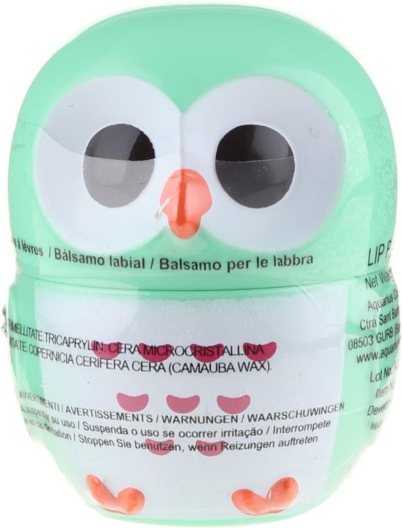 "Balsamo labbra ""Gufo"", verde - Martinelia Owl Lip Balm"